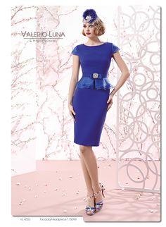 VL4553 - Vestido de Fiesta - Valerio Luna