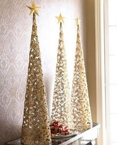 pretty cone christmas trees tabletop christmas tree gold christmas tree christmas 2017