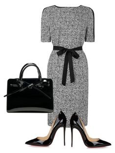 """Grey days"" by jessica-misc ❤ liked on Polyvore featuring Christian Louboutin"