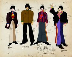 Animation cels from 'Yellow Submarine' to be auctioned off soon | Dangerous Minds