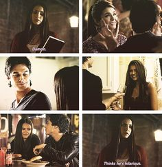 Probs cause he is. And you know it, Elena. ;) Delena -  The Vampire Diaries. ♥
