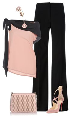 """""""Sin título #1681"""" by marisol-menahem ❤ liked on Polyvore featuring DKNY, Marni and Christian Louboutin"""