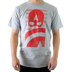 Men's Captain America Minimal Shirt