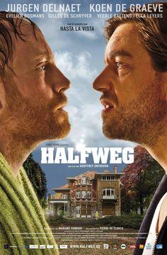 'Halfweg' directed by Geoffrey Enthoven with Koen De Graeve, Ella Leyers, Veerle Baetens, Jurgen Delnaet, Evelien Bosmans