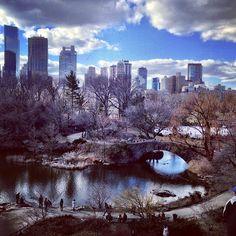 Central Park South nel New York, NY