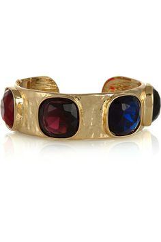 Kenneth Jay Lane Gold-plated cuff