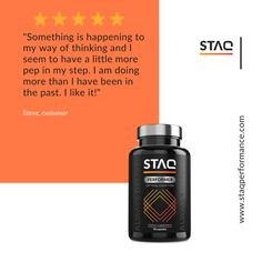 It's always great to hear that STAQ Performer helps our customers to perform better. 🔝 Have you tried our nootropic stack? Let us know what you think so we can become better and better. Do You Feel, What You Think, Let It Be, Rhodiola Rosea, Flow State, Lemon Balm, Have You Tried, Our Body, My Way