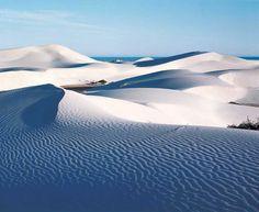 The white dunes of Eucla, Western Australia. #australia #desert