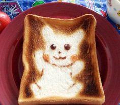 Cute Toast Art – Le petit déjeuner japonais devient Kawaii