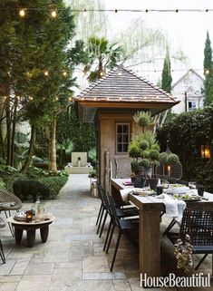When we Are speaking about the house decor, we cannot overlook speaking about the Covered Patio Ideas For Backyard. Backyard -- the outside side of this house Outdoor Rooms, Outdoor Dining, Outdoor Gardens, Outdoor Decor, Dining Area, Dining Room, Dining Table, Outdoor Kitchens, Rustic Outdoor