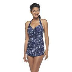 05d5da92005db Halter Swim Dress - Merona Women's One Piece Swimsuits, Women Swimsuits, Target  Dresses,
