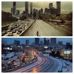 "Atlanta Is Basically An Episode Of ""The Walking Dead"" Right Now, the poor south isn't used to snow!"