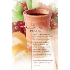 Bulletin-Communion Prayer (Pkg-100)