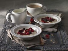 Re-visit your #Breakfast concepts and design the perfect customer experience with this simply designed crockery range #Alvo by #Steelite The stunning white porcelain brings out the colours in the vivid #Strawberries & #Raspberries #Coffee