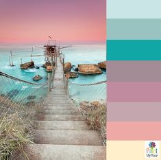 Color Palette Inspiration - Italian sunset                                                                                                                                                                                 More