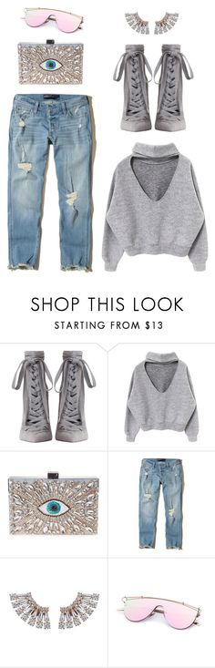 """""""IT!"""" by maria-laura-correa-da-silva ❤ liked on Polyvore featuring Zimmermann, GEDEBE and Hollister Co."""