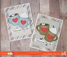 My Favorite Things , Hot Cocoa Cups Die-namics , Hug in a Mug Stamp Set