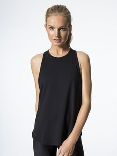 Motion Tank Tops in Black by Carbon38 from Carbon38