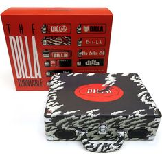 The Dilla Turntable. An official product of the Estate of James Yancey. The portable turntable comes with an exclusive vinyl single of J Dilla, Thing 1, Record Player, Music Lovers, Turntable, Usb, Transcription, Instrumental, Software