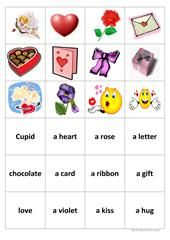 English ESL worksheets, activities for distance learning and physical classrooms Esl Lessons, English Lessons, Valentines Day Activities, Valentines For Kids, Memory Games For Kids, Dramatic Play, Print And Cut, Projects To Try, Memories