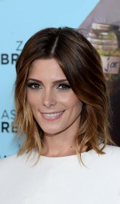 Short Brown Hairstyles - Ombre Wob