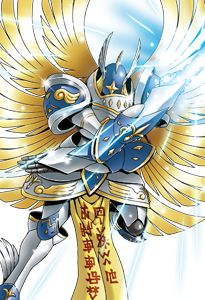 Seraphimon Wallpaper Double Sided Digimon C...