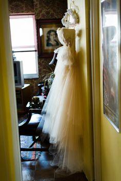Urban Wedding; Jennifer Tabeek; Carol Hannah - Chambord Gown