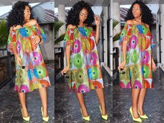 Ankara Lookbook : MK Couture for Comme Les Kinois