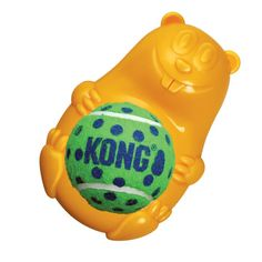 Bounce up a delightful puzzle for your curious pup with the Kong Tennis Pals Dog Toy Beaver! Puzzle toy with a bounce Tennis ball in belly Squeaker in animal b Dog Puzzles, Puzzle Toys, Dog Fetch Toy, Kong Toys, Durable Dog Toys, Best Dog Toys, Pet Steps, Interactive Dog Toys, Make A Game