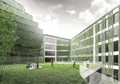 School of Design – NOMS – Architectural Studio Louvre, Studio, Architecture, School, Building, Travel, Design, Arquitetura, Viajes