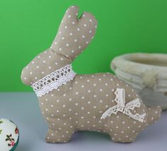 Dinosaur Stuffed Animal, My Etsy Shop, Bunny, Easter, Decoration, Toys, Brown, Unique Jewelry, Handmade Gifts