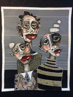 "Deb Weiers - (SOLD) ""The Contemplators"" 15x18"""