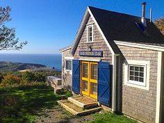 Deep Blue Sea Cottage with Incredible Views. Deep Blue Sea Cottage is a gorgeous coastal cottage on a 130-acre property five minutes from the Cabot Trail.  ...