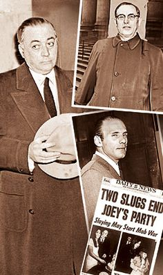 Joey Gallo Colombo Crime Family, Mobsters, Lower East Side, Gangsters, Mafia, One Pic, The Neighbourhood, Paradise, Boss