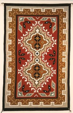 Click here to view more details of this Navajo Rug.