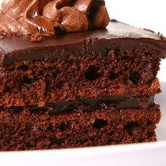 This chocolate cake from scratch makes a delicious cake that is not complicated to make.. Chocolate Cake From Scratch Recipe from Grandmothers Kitchen.
