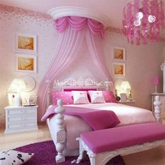 Set Kamar Anak Barbie, Set Kamar Anak Mewah, 1 Set Kamar Anak Minimalis, Set Kamar Anak Perempuan