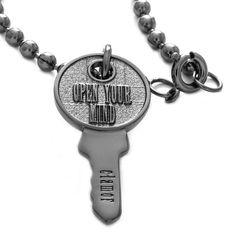Venezia - Open your mind Ruthenium Necklace