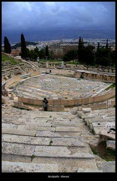 Odeón de Herodes Ático, Acrópolis de Atenas