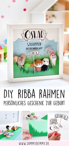 Gifts For Mom, Baby Gifts, Men Gifts, Ribba Frame, Diy Bebe, Baby Ikea, Teacher Appreciation Gifts, Baby Party, Best Friend Gifts