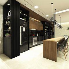 Apartamento de um jovem solteiro! É muito amor!! Projeto @carolcantelli_interiores Projeto completo na Fanpage: Carol Cantelli - Interiores