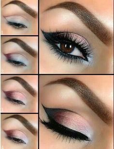 Beautiful smokey eyes