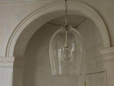 rose uniacke hand-blown glass lantern