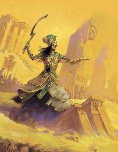 The Unofficial Tomb Kings Battletome that I released several months ago had a ton of awesome original artwork in it. Egyptian Goddess Art, Character Art, Life In Ancient Egypt, Fantasy Art, Fantasy Warrior, Tomb Kings, Art, Warhammer Tomb Kings, Mythological Creatures