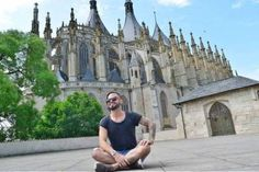 #Summer #RoadTrip #Czech #Praha #Prague #KutnaHora #Architecture #Cathedral #Tattoos #Beard  (at Saint Barbara's Cathedral, Kutna Hora)