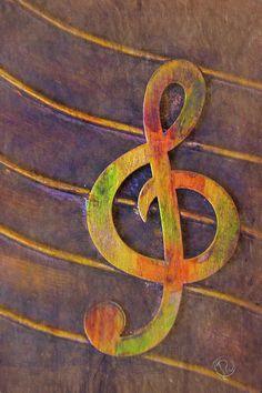 Treble by Pamela Williams #sharepamsart #fineart #photography #gift #music #symbol #trebleclef #artforsale