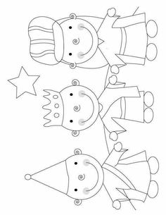 christmas coloring pages to print, free printable christmas coloring pages, three wisemen christmas coloring pages school Mais Printable Christmas Coloring Pages, Free Christmas Printables, Christmas Bible, Kids Christmas, Church Crafts, Xmas Crafts, Coloring Pages To Print, Coloring For Kids, 3 Kings Day Crafts