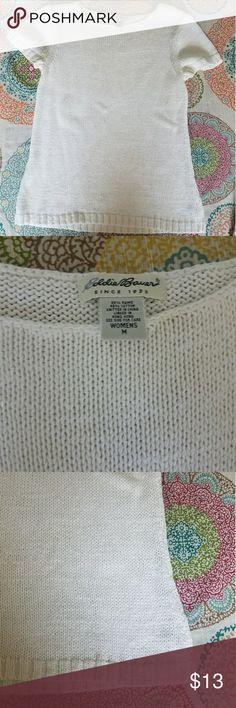 Eddie Bauer off white knit top Eddie Bauer off white knit top Eddie Bauer Tops Blouses