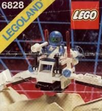 LEGO® Instructions 6828 Twin-Winged Spoiler