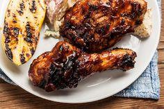 Bourbon-Bacon BBQ Chicken